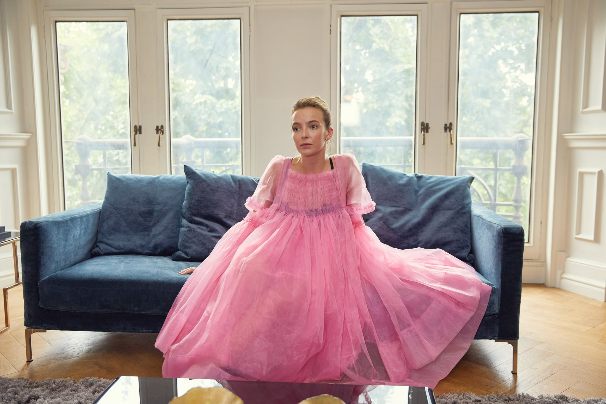 KILLING EVE, Jodie Comer, (Season 1, ep. 102, airs April 15, 2018). photo: BBC-America / Courtesy: Everett Collection