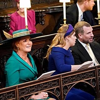 Where Did Sarah Ferguson Sit at Princess Eugenie's Wedding?