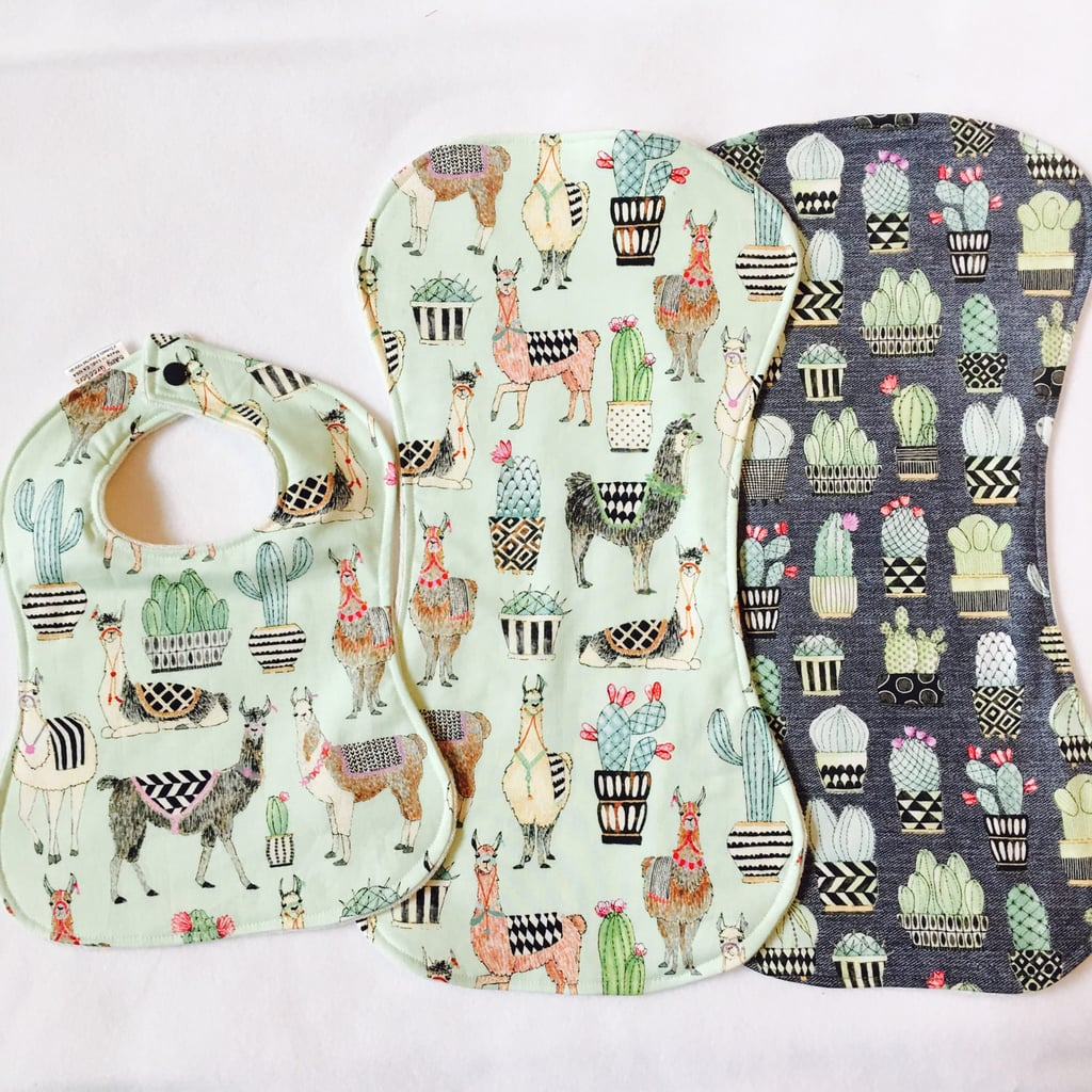 Bib & Burp Cloth Set