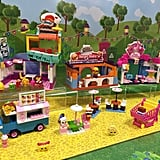 These blind bag toys have been reimagined for the new C3 Kinstructions line so that little ones can build up the world of Shopkins with multiple construction sets. Complete with a pizza parlor and sushi shop, the deluxe set will let your children play with their Shopkins in an imaginative way.