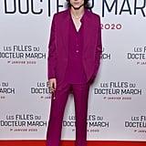 Timothée Chalamet at the Little Women Premiere in Paris