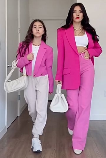 Stylish Matching Mother-Daughter Outfits   TikTok