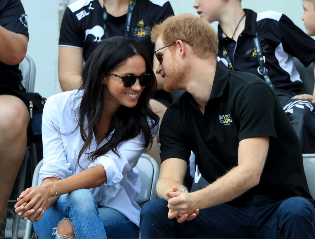 Prince Harry and Meghan Markle Arrive Hand in Hand at the Invictus Games