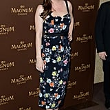 Liv Tyler wore a floral number at a Magnum bash on Thursday.