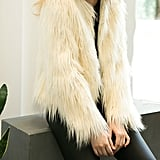 Kaehonycoco Vintage Faux Fur Coat