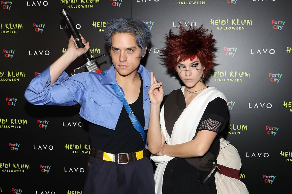 Barbara and Dylan at Heidi Klum's 2018 Halloween Party