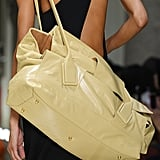 A Bottega Veneta Bag on the Runway During Milan Fashion Week