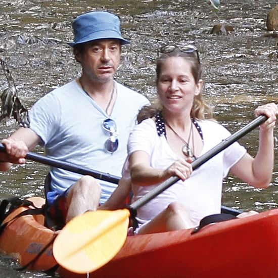 Robert Downey Jr. and Pregnant Wife Susan Vacation in Kauai