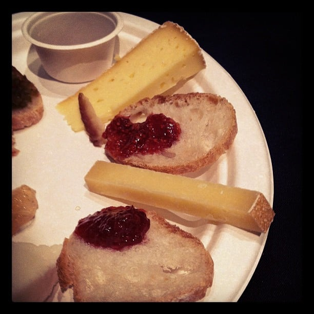 Cheese and Jam Plate
