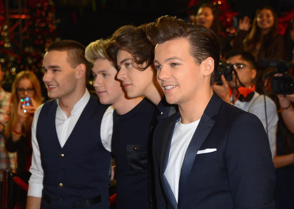 One Direction at the US X Factor Season Finale in 2012