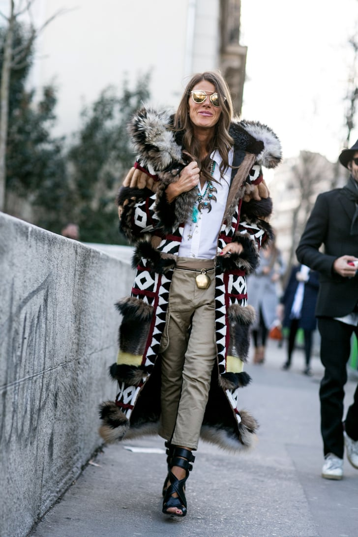Pfw Day Two Paris Fashion Week Street Style Fall 2015 Popsugar Fashion Photo 30
