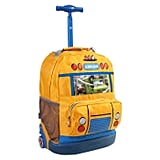 J World School Bus Rolling Backpack
