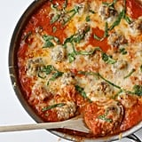 Baked Meatballs in Tomato Cream Sauce
