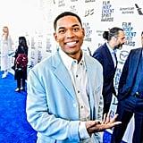 Kelvin Harrison Jr. at the 2020 Spirit Awards