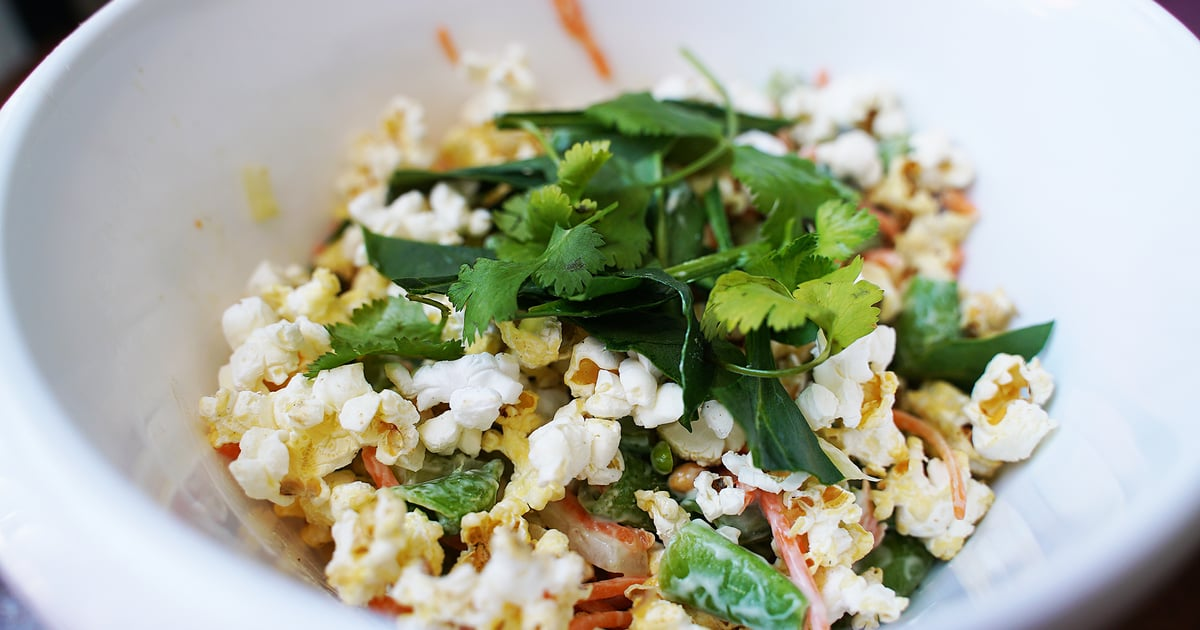 "I Made Molly Yeh's ""Gross"" Popcorn Salad, and the Internet Needs to Chill, TBH"
