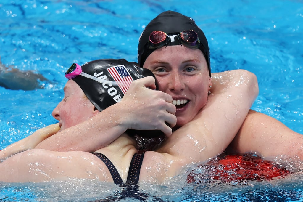 2021 Olympics: Team USA's Lydia Jacoby & Lilly King's Warm Hug After Getting Medal Winning Results