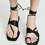 Reike Nen Unbalanced String Flip Flops