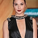 Bold: Gal Gadot This deep-crimson lip adds just the right amount of edge.