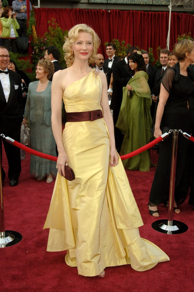 cate blanchett at the 2005 academy awards the best
