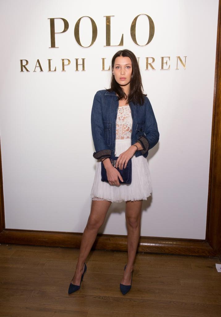 Bella Hadid at NYFW