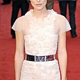 Keira looked stunning in her Chanel dress.