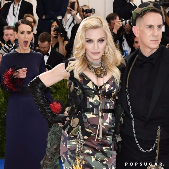 Sarah Paulson Seeing Madonna at the 2017 Met Gala