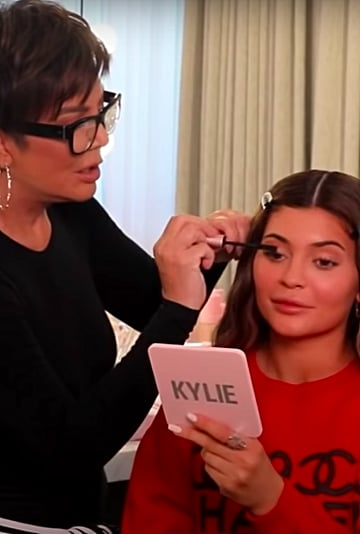 Kris Jenner Does Kylie's Makeup in This Hilarious Video