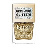 Butter London Peel-Off Glitter Nail Lacquer in Gold Rush