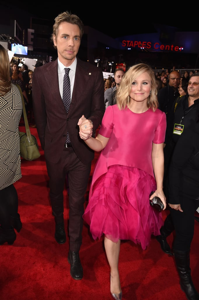 "It goes without saying that Kristen Bell and Dax Shepard have an utterly wonderful romance. Ever since they began dating in 2007, the couple has won hearts over with their ""aw""-inducing moments and sweet comments about one another. Whether it be in interviews, magazines, or on social media, these two are constantly gushing about one another, further solidifying their status as one of Hollywood's cutest couples. Back in April, the funny duo took their intense love of Game of Thrones to another level, arriving at the show's season six premiere in temporary tattoos and matching tank tops. In honor of their one-of-a-kind romance, we're looking back at the sweetest things Kristen and Dax have said about each other — keep reading to see what they've said, and then check out this supercute music video they recorded during a trip to Africa."