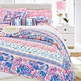 Lilly Pulitzer Slathouse Soiree Patchwork Quilt and Sham
