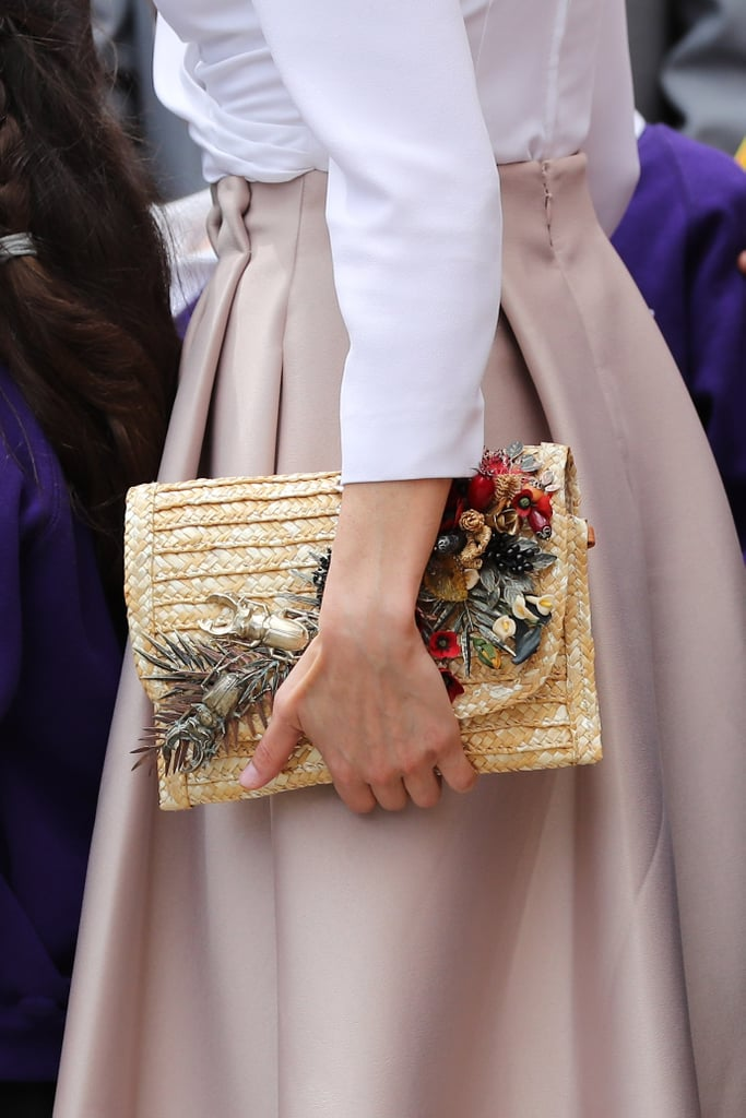 Queen Letizia Is Carrying the Bag of the Summer