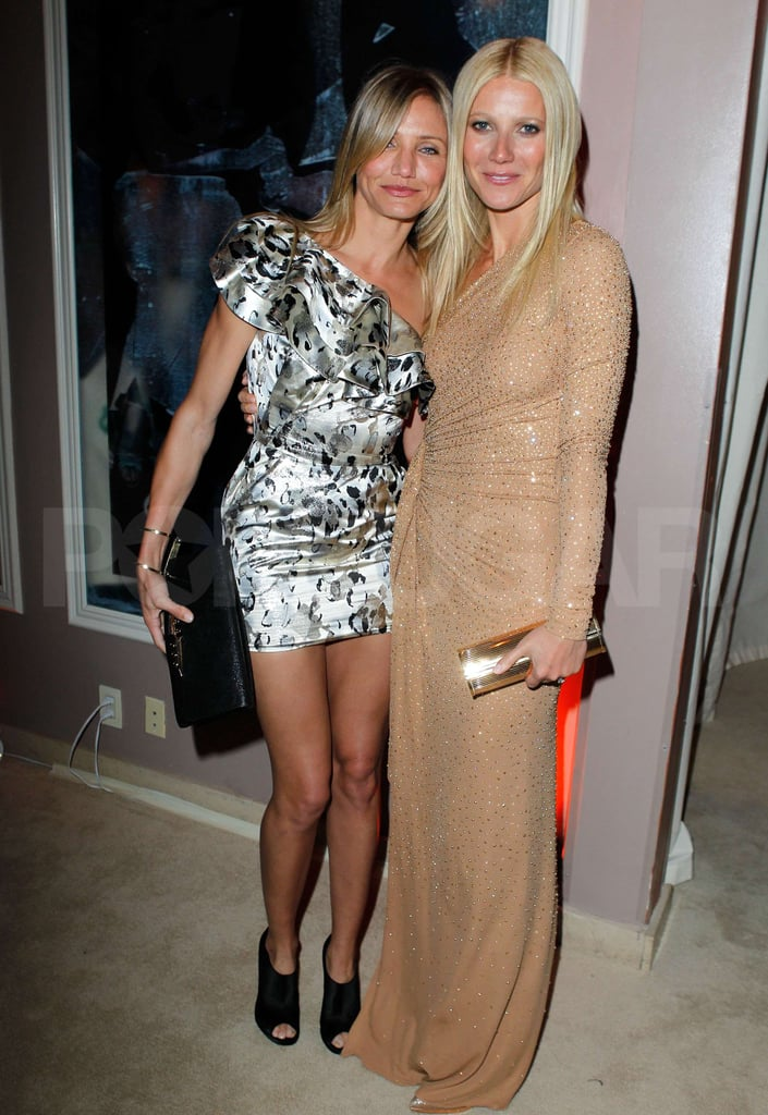Pictures of Cameron Diaz, Jude Law, and Gwyneth Paltrow at Vanity Fair Oscars Party