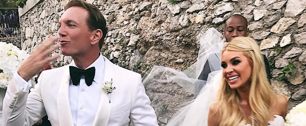 This Bride Wore So Many Stunning Outfits During Her Italian Wedding, It's Hard to Choose a Favourite