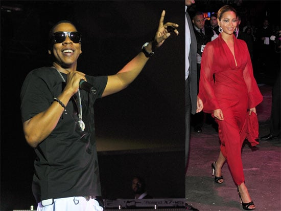 Photos of Jay-Z and Beyonce in Miami for Children's Hospital Foundation Diamond Ball and Last Chance For Change Obama Rally