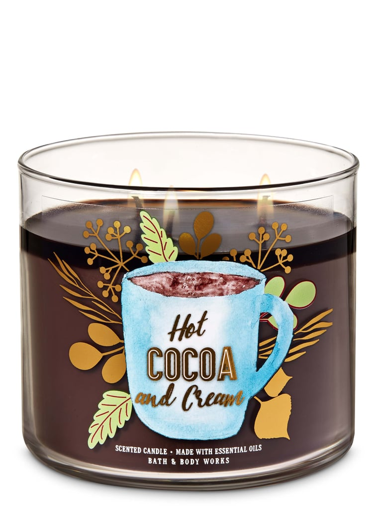 Bath and Body Works Hot Cocoa and Cream 3-Wick Candle