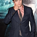 Robert Pattinson was entertaining as ever at the Cosmopolis premiere.