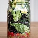 Whole30: Guacamole Mason Jar Salad