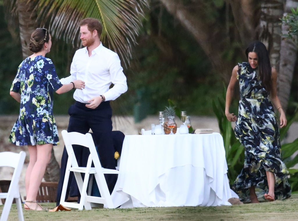 Meghan Markle Wedding Guest Dress In Jamaica March 2017 Popsugar Fashion