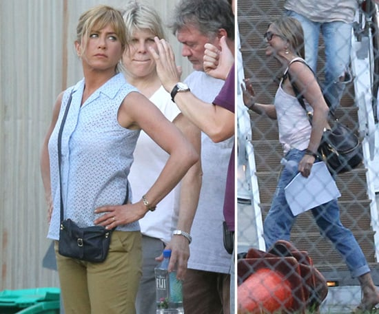 Jennifer Aniston Transforms —and Shows Off Her Guns! —For New Pot Comedy