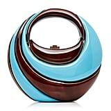 Rocio Coco Blue Swirl Top Handle