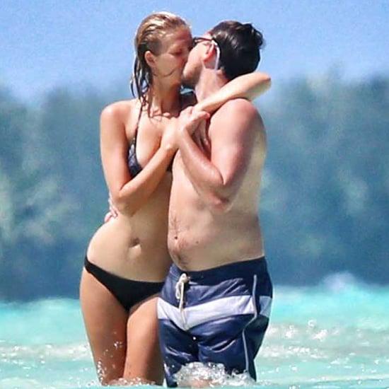 Leonardo DiCaprio Shirtless on Vacation With Toni Garrn