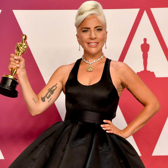 "Lady Gaga Quotes on ""Shallow"" Backstage at the Oscars 2019"