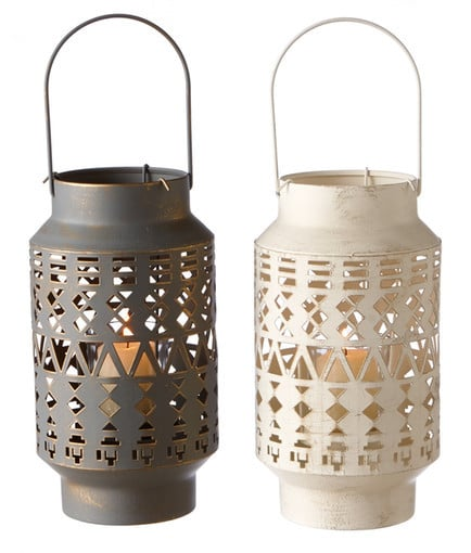 Small Votive Lanterns ($23 for set of 2)