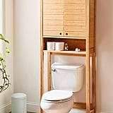 Silvia Bamboo Over-The-Toilet Storage Shelf