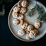 Satsuma Rosemary Pignoli Nut Cookies