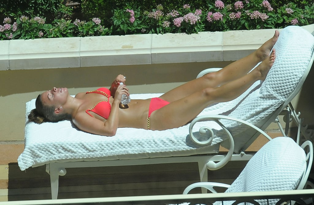 Pictures of Coleen Rooney in a Bikini and Shirtless Wayne Rooney