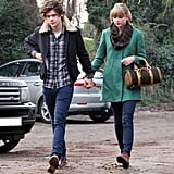 Taylor Swift and Harry Styles hung out in England.