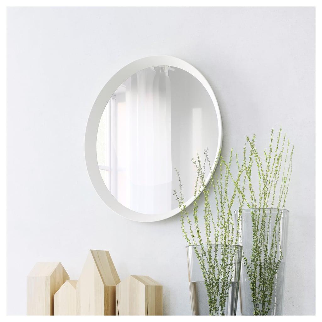 Round wall mirror best ikea bedroom products popsugar for Specchio da tavolo con luce ikea