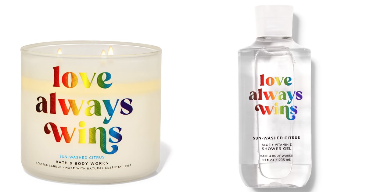 """Bath & Body Works Released a """"Love Always Wins"""" Collection, and We'll Take 1 of Everything"""