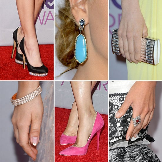 Heels, Jewels and Bags from the 2013 People's Choice Awards!
